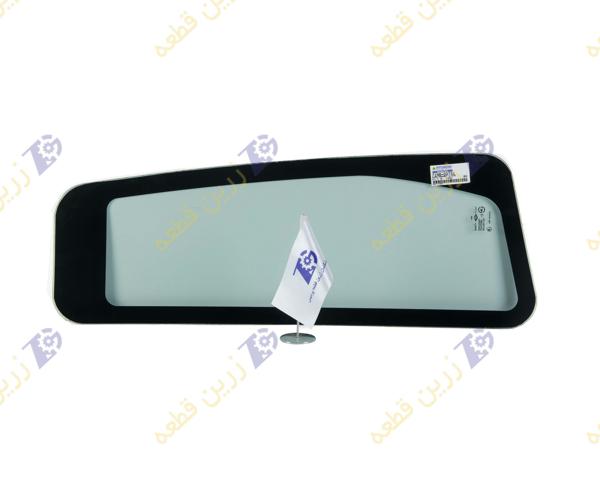 تصویر شیشه سمت درب قسمت عقب کابین بیل هیوندایی 320